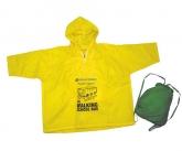 Promotional rain ponchos
