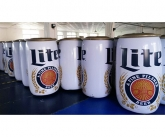 Inflation Testing for Miller Lite cans at the factory