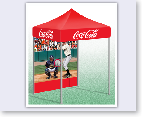 POP-up Tent with custom Baseball Game Backdrop.  sc 1 st  Alvimar Global & Tents - Coke Baseball Game/Tent - Alvimar Global