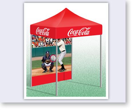 POP-up Tent with custom Baseball Game Backdrop.  sc 1 st  Alvimar Global & Tents - Coke Baseball Game/Tent - Alvimar Global